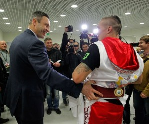 Кличко проти Усика: «розбірки» після бою (відео)