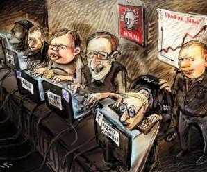 """Більше 300 схожих акаунтів: розкрито схему діяльності російської """"фабрики тролів""""."""