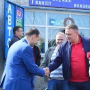 Опублікуване відео розмови по-чоловічому нардепа Шевченка з мером Марцінківим