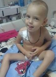 Маленькому Макарчику з Франківська терміново потрібні донори крові