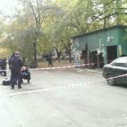 В Києві чоловік ледь не вибив патрульних