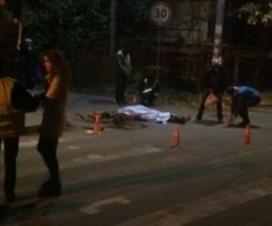 У Франківську водій збив на смерть велосипедиста. Особу загиблого встановлюють