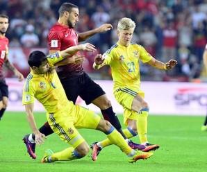 Збірна України втратила перемогу над Туреччиною у відборі на ЧС-2018