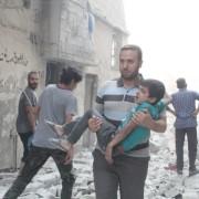Жахливі наслідки бомбардування сирійського Алеппо Росією (ФОТО)