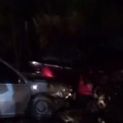 """У Долині п'яний водій врізався у припарковану автівку і переконував, що та на """"зустрічці"""". ВІДЕО"""