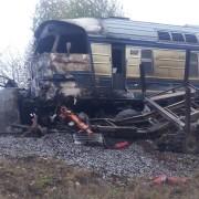 У Вінницькій області поїзд зіткнувся з вантажівкою, троє загиблих
