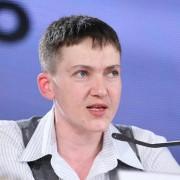 """Надія Савченко заявила, що Закарпаття може піти шляхом проросійських """"ДНР"""" та """"ЛНР"""""""