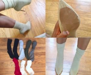 Дівчата створили новий тренд – шкарпетки поверх туфель