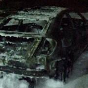 Дружині Мішеля Терещенка спалили авто