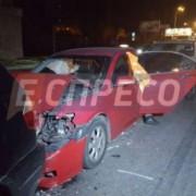 Дуже велика аварія в Києві: постраждало 9 авто