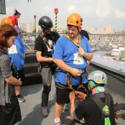 Учасник «Зважених та щасливих-6» із Франківська випробує свої нерви на 24-метровій висоті!