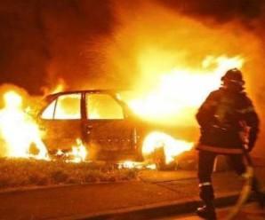 Вночі на вулиці Гординського згоріла елітна іномарка