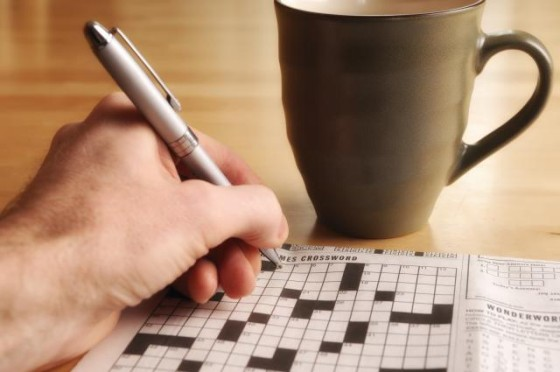 crossword-puzzle-and-morning-coffee-122559941