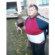 Жінка із сокирою накинулась на працівників військкомату (відео)