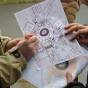 В Івано-Франківську облаштовують мале розворотнє кільце
