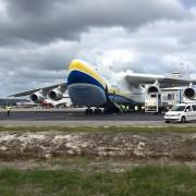 """Український літак-гігант """"Мрія"""" перевіз рекордний вантаж (відео)"""
