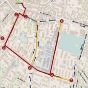 Завтра у Франківську перекриють кілька вулиць (схема)