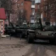 Центром Коломиї проїхали танки. Фото, відео