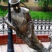 В Івано-Франківську пропонують зробити пам'ятник пиякам. Фото