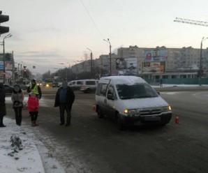 У Франківську фургон збив жінку, яка переходила дорогу на зелене світло (ФОТО)