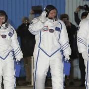 Найстарша астронавтка полетіла на МКС