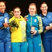 Українки перемогли Росію та тріумфували на етапі Кубку світу з фехтування на шпагах