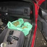 Мешканець Тлумача перевозив в автомобілі кілограм марихуани (фото)