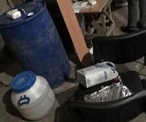 В Івано-Франківську викрили вже четвертий за рік підпільний цех з виготовлення фальсифікованого алкоголю (фото)