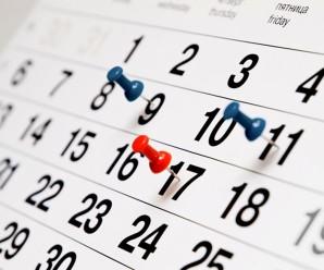 Вихідні дні – 2017: Кабмін назвав святкові та вихідні дні