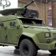 Новенький броньований Барс-8 для бійців АТО