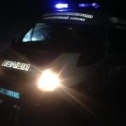 На Закарпатті нетверезий водій збив двох пішоходів: опубліковані ФОТО з місця події