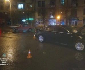 В Івано-Франківську нетверезий водій вчинив ДТП на перехресті