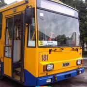 В Івано-Франківську тролейбуси на маршруті №2 тимчасово не їздитимуть на вул. Юності