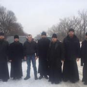 Cвященики УПЦ (МП) допомогли звільнити кіборга Тараса Колодія