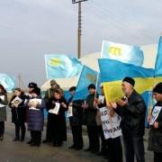 Кримські татари вийшли на акцію протесту проти безправ'я