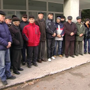 Екс-правоохоронці Коломийщини організували акцію протесту (відео)