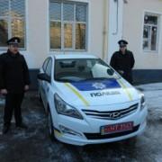 Поліцейські отримали від мера подарунок до Миколая — новенький Hyundai. Фото