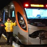 Українці показали фото свого першого швидкісного поїзда, доїхавшого в Польщу