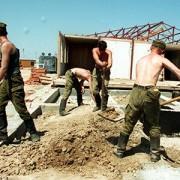 Помешкання військовому командиру у Дрогобичі будують його підлеглі строковики
