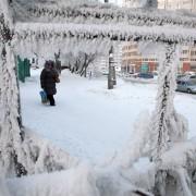 На Прикарпатті оголосили штормове попередження: морози сягнуть позначки -25