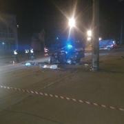 З'явилось відео жахливого ДТП в Івано-Франківську, в якому загинула 16-річна школярка та 20-річний хлопець (відео 18+)