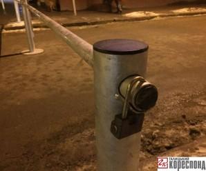 Середмістя Івано-Франківська повністю закрили для проїзду транспорту (фото)