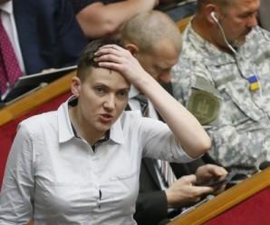 Рада сьогодні розгляне питання виключення Н.Савченко з комітету з нацбезпеки – нардеп