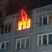 В новорічну ніч вогнеборці гасили квартиру на Пасічній