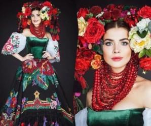 """Українка підкорила своїм вбранням на """"Міс Всесвіт"""""""