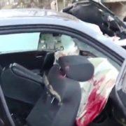 У жахливій ДТП на Прикарпатті один чоловік загинув, двоє в реанімації (відео)