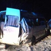 Масштабна ДТП у Рогатині: зіткнулося дві «фури» та два мікроавтобуси