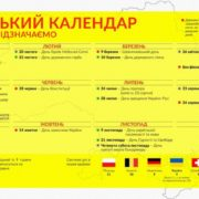 Без 8 березня та 9 травня: представлено проект календаря нових вихідних в Україні (інфографіка)