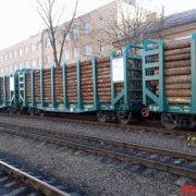 З Івано-Франківська до Естонії незаконно вивозять ліс-кругляк