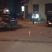 Нічна аварія у Франківську: на перехресті вулиць Довга – Тичини зіткнулись два автомобіля (фото)